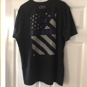 Men's under armour freedom shirt